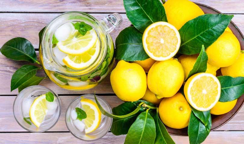 Manfaat Kandungan Jeruk Lemon